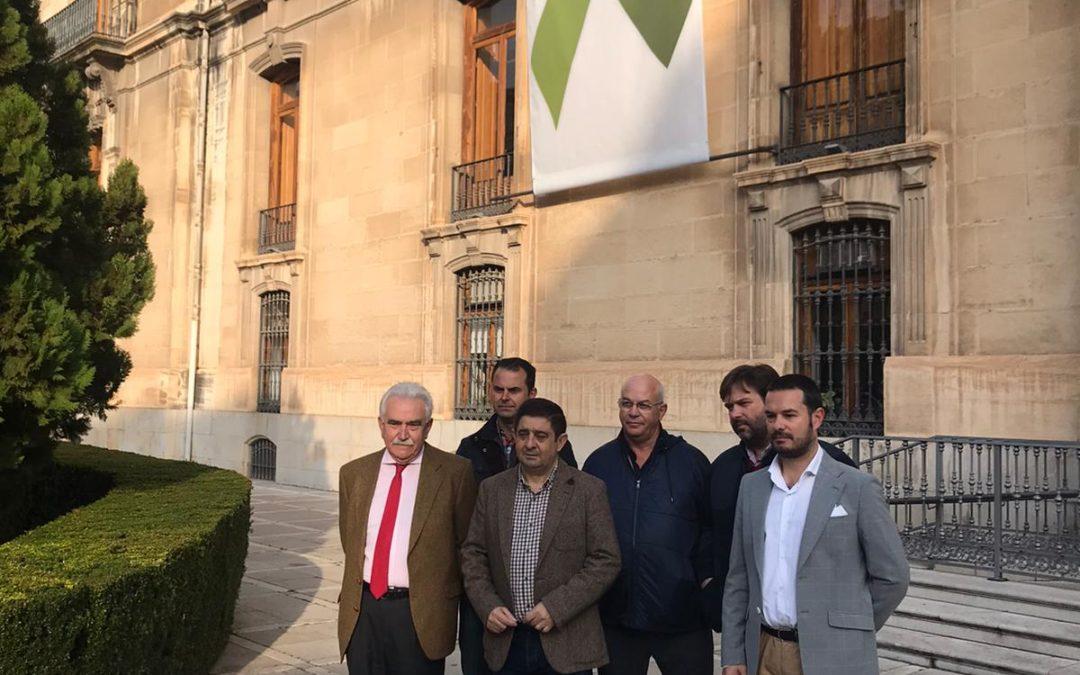 La Diputación de Jaén apoya al sector del olivar en Movilización Permanente