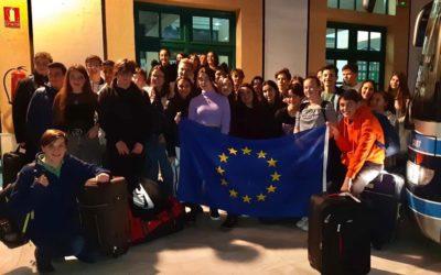 Jamilena da la bienvenida a los alumnos del Programa ERASMUS+