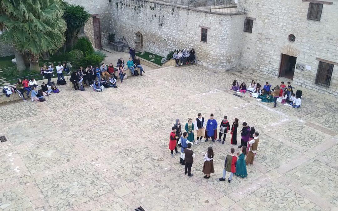Alumnos extranjeros visitan Torredonjimeno con el programa Erasmus+