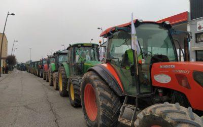 El Ayuntamiento de Andújar se suma a las movilizaciones de los agricultores