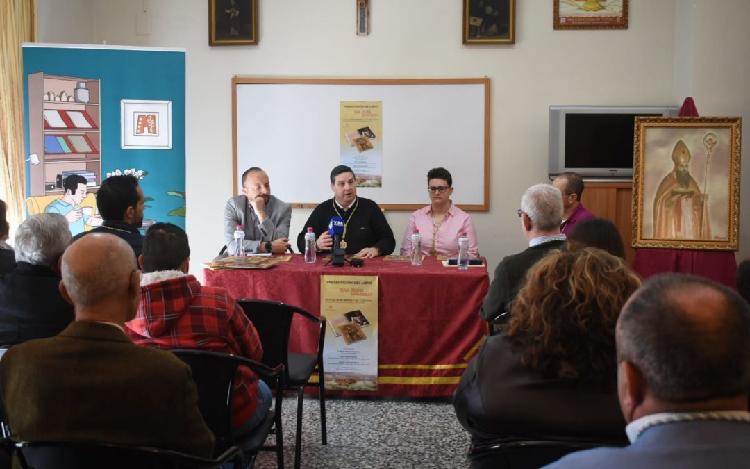 """A la venta el libro """"Historia de San Julián, patrón de Marmolejo"""""""