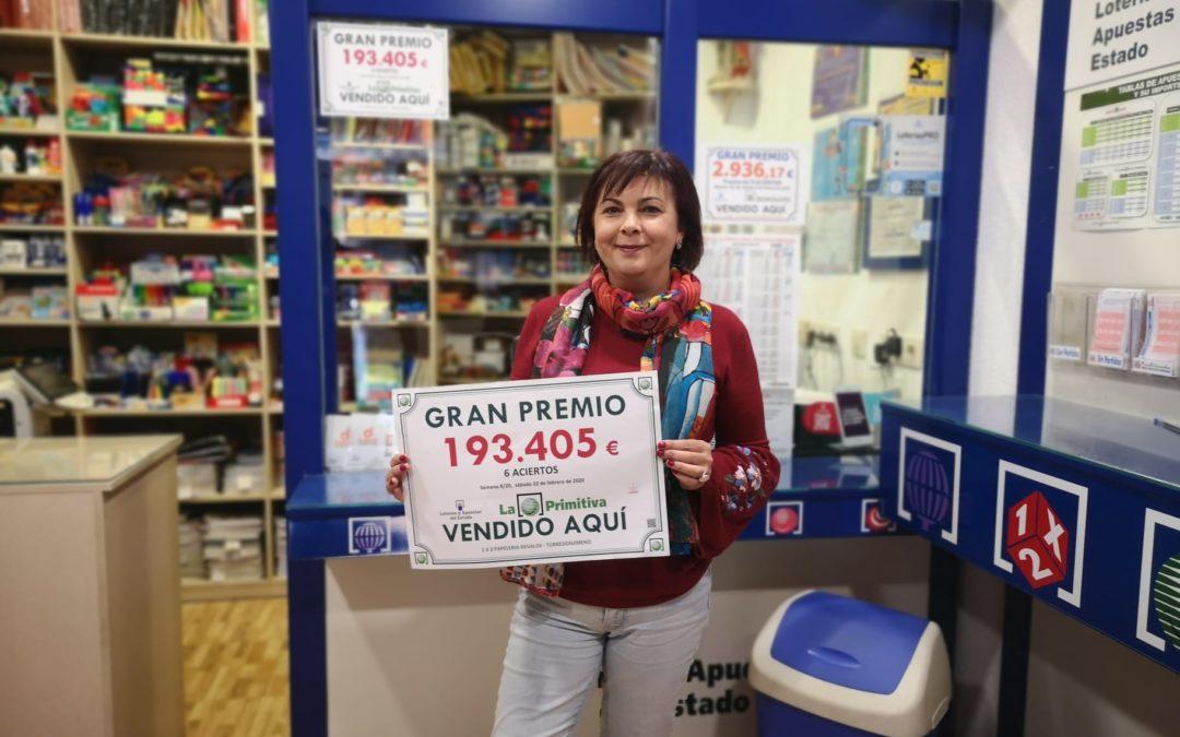 La suerte deja casi 200.000 euros en Torredonjimeno