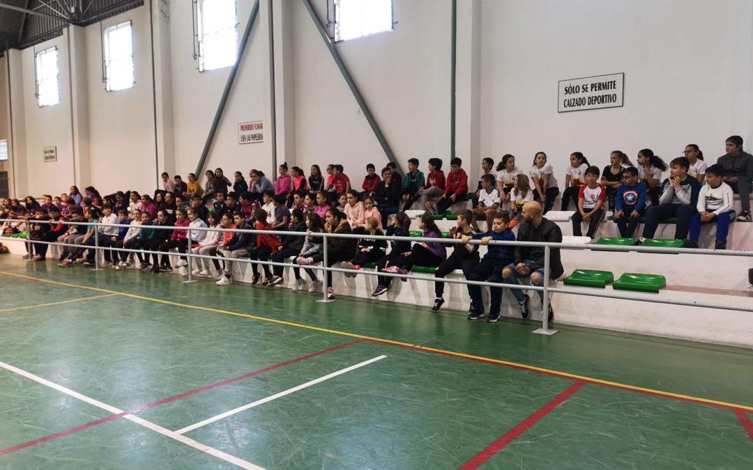 Comienzan las Jornadas Deportivas Intercentro