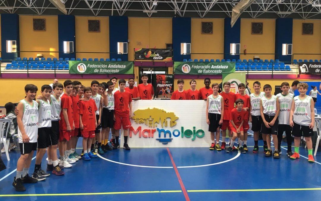 El Minibasket hermana a Andalucía y Madrid en Marmolejo