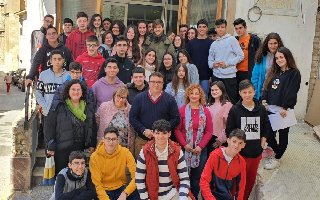 Los jóvenes trasladan sus propuestas al Ayuntamiento