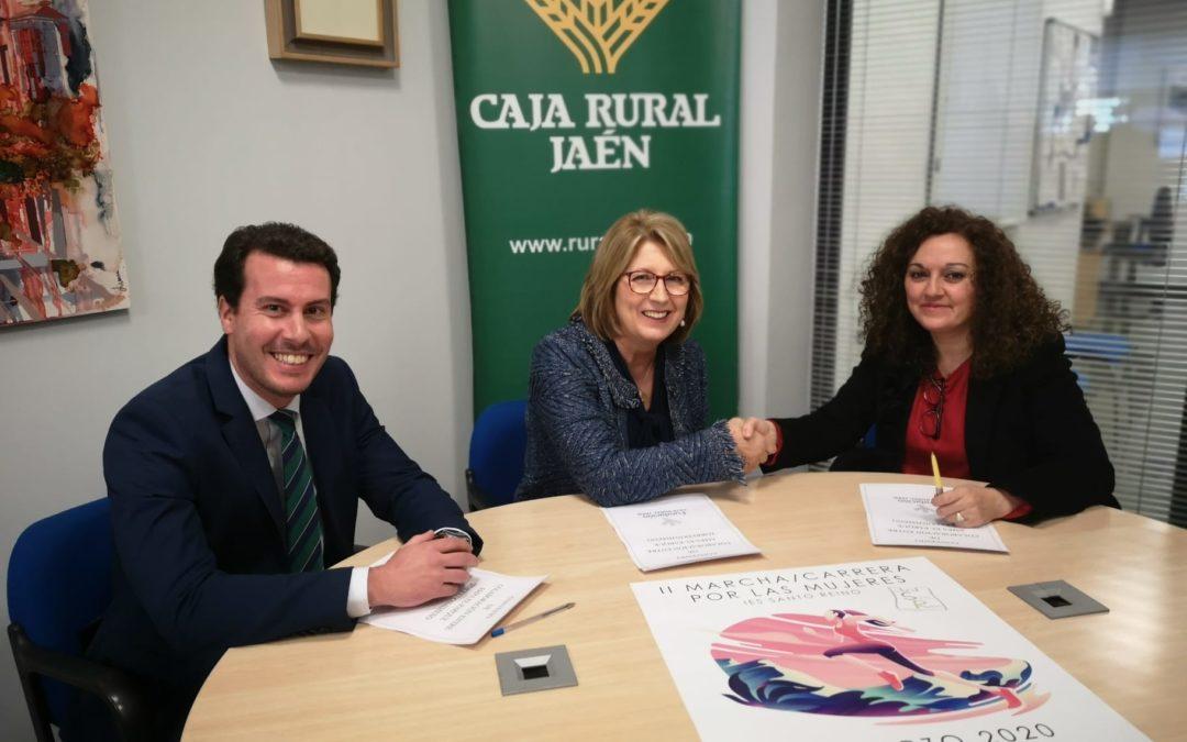 Fundación Caja Rural de Jaén apoya al AMPA del IES Santo Reino en el Día de la Mujer