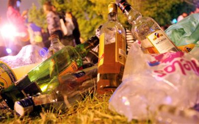 11 de las 44 denuncias del fin de semana de Policía Local fueron por hacer botellón