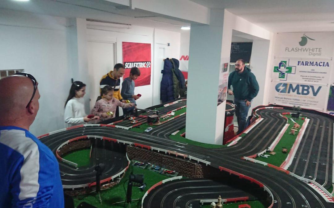 Éxito de participación en la I Jornada de puertas abiertas del Club Slot de Torredonjimeno