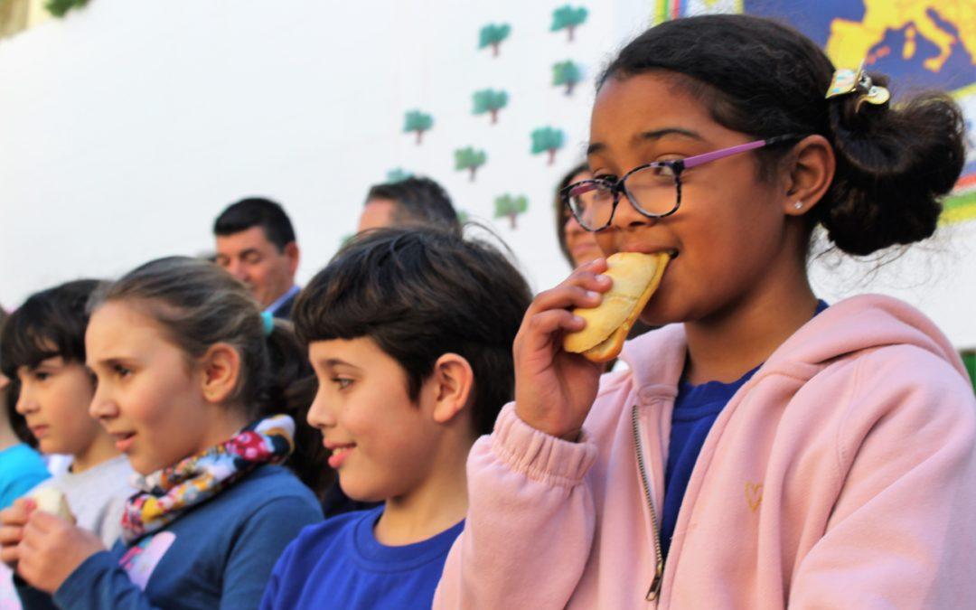 Desayuno divertido y saludable en el colegio Europa