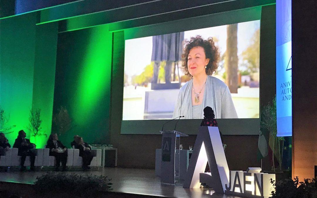 """Reconocimiento a los """"abanderados"""" de Jaén por el 28 F"""
