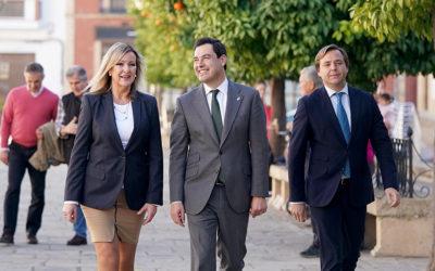 Compromiso del presidente de la Junta de Andalucía con la A-306