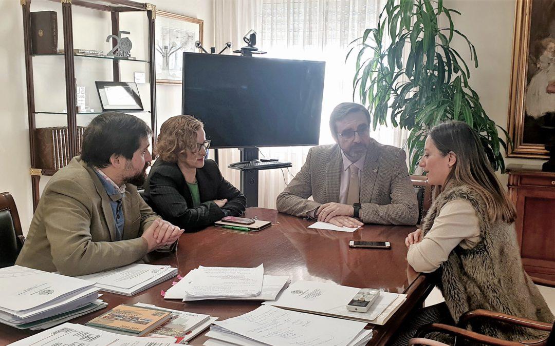 La Carolina y la Universidad de Jaén estrechan las líneas de colaboración