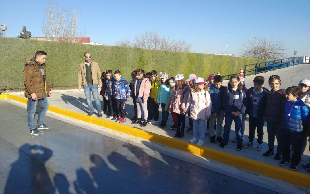 Día de excursión para alumnado de 1º y 2º de primaria del Príncipe Felipe