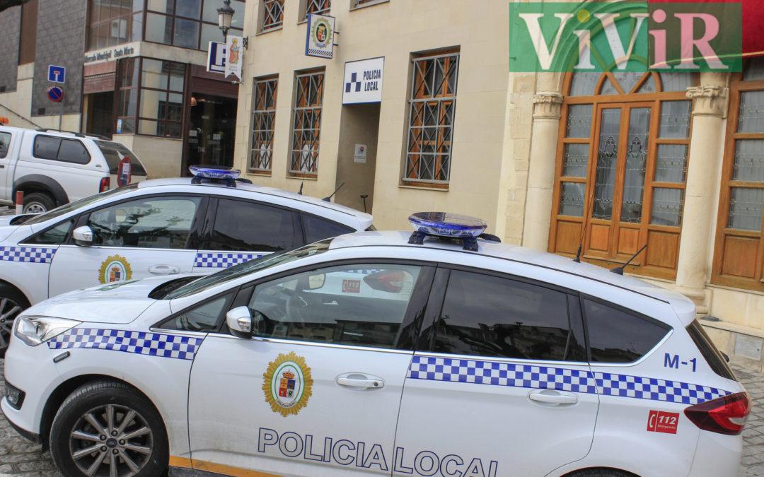 La Policía Local de Martos sanciona a los irresponsables