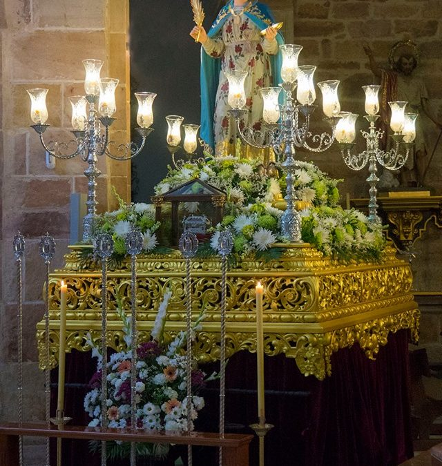 Memoria de Santa Potenciana y su sepulcro