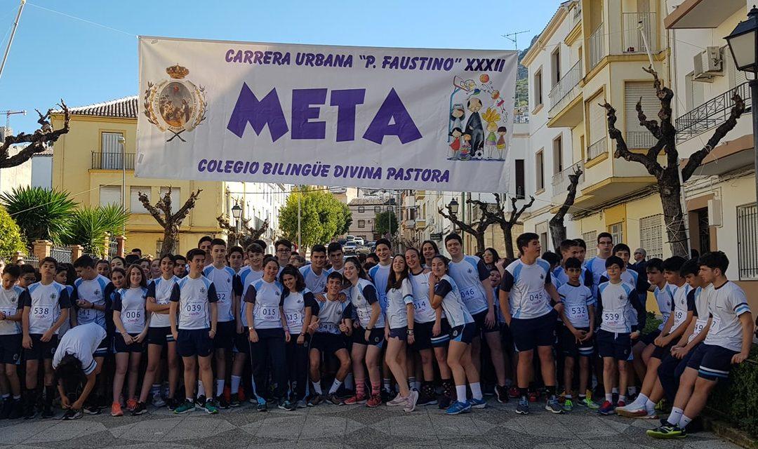 Los escolares de Martos participaron en la XXXII Carrera Urbana de San Faustino