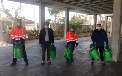 La ola de solidaridad llega a la residencia de mayores de Martos