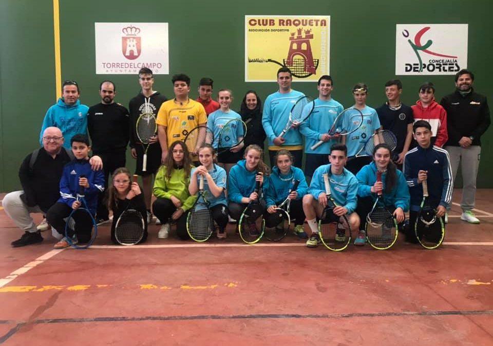 La Selección Andaluza de Frontenis se concentra en Torredelcampo
