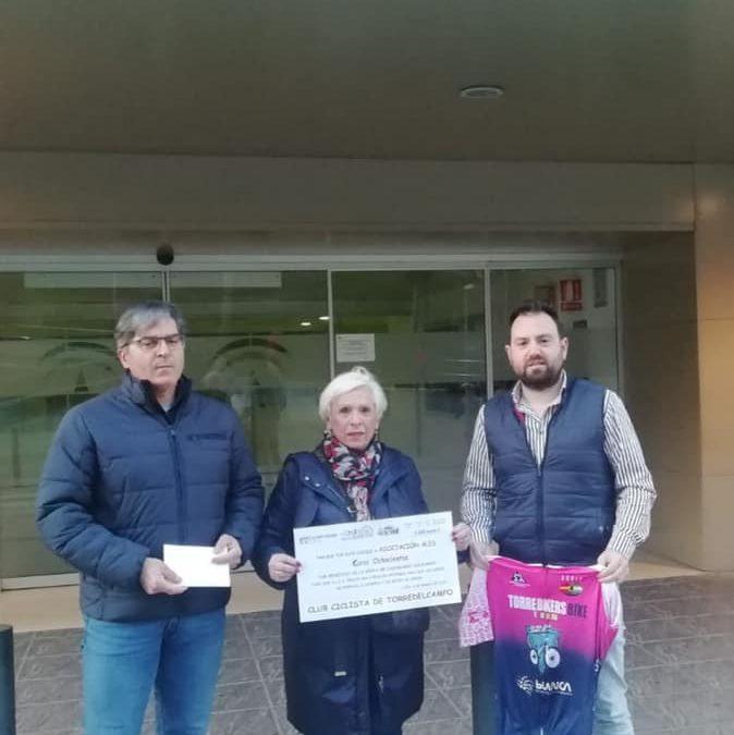 EL Club Torrebikers colaboración con El Jardín de los Sueños de ALES