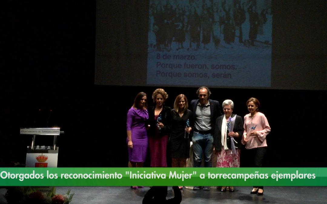 """Otorgados los reconocimiento """"Iniciativa Mujer"""" a torrecampeñas ejemplares"""