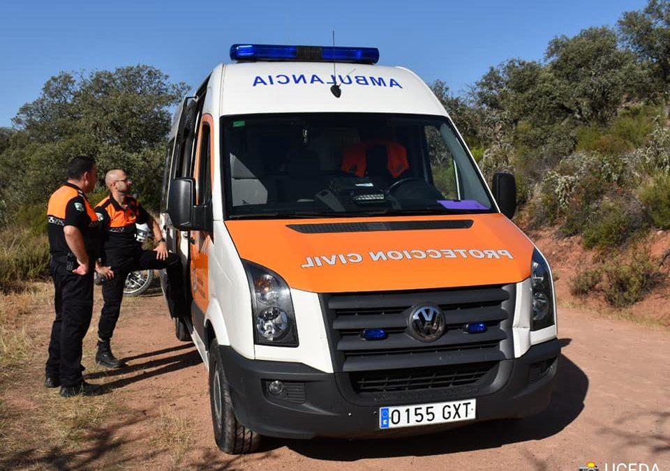 Protección Civil ofrece ayuda a los mayores de Lopera