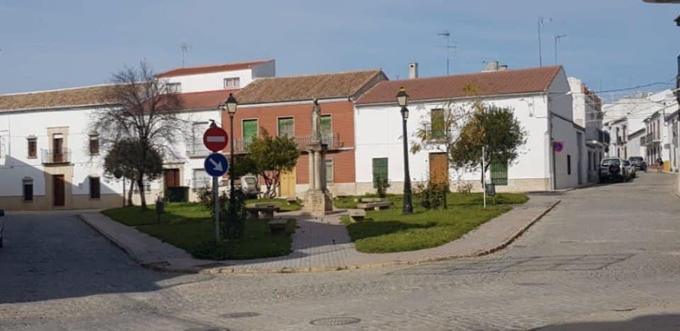 """Obras de mejora en la calle de la plaza """"Juan Rafael Criado"""""""