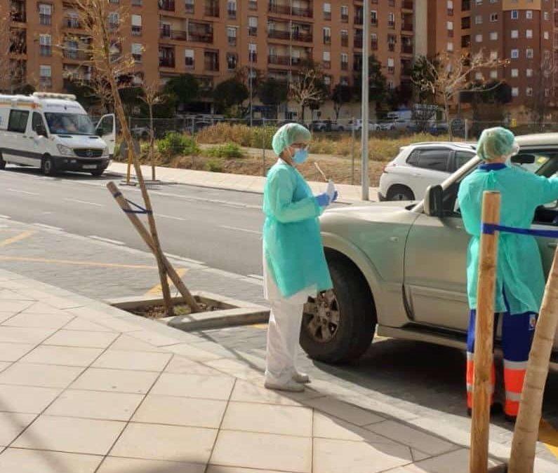 La Carolina se suma a la recogida rápida de muestras de coronavirus