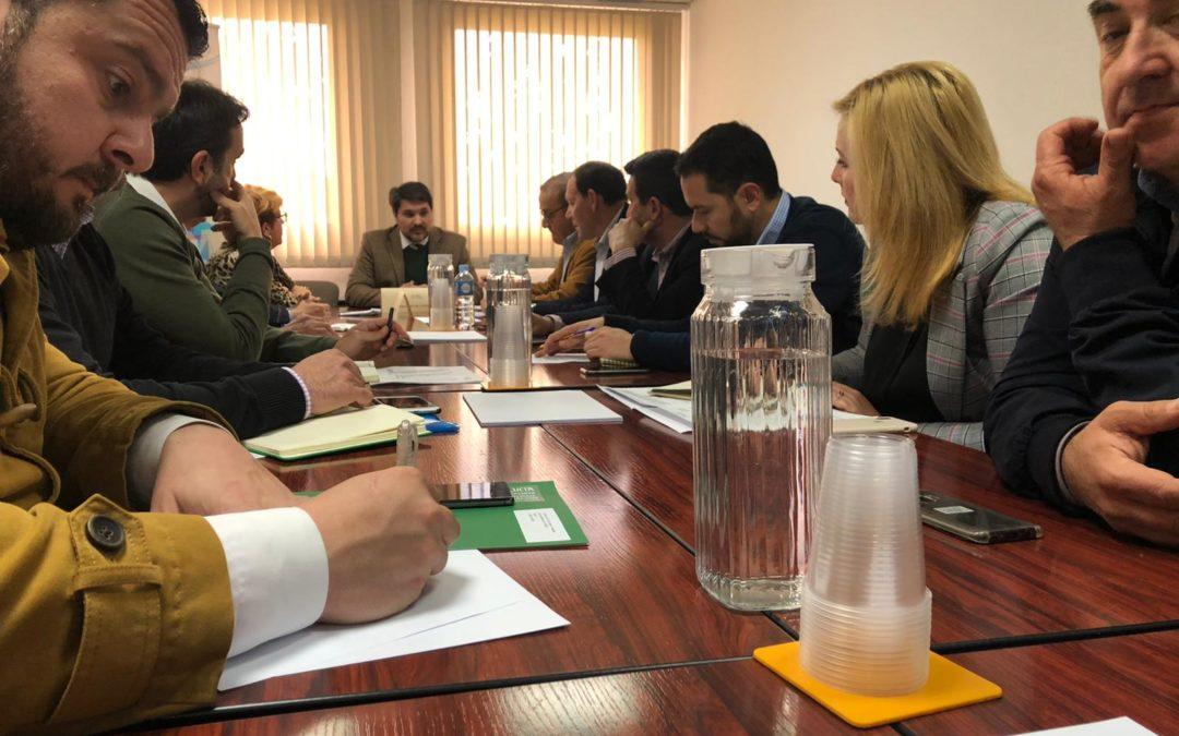 El alcalde de Marmolejo preside la comisión de Medio Ambiente, Desarrollo Rural y Pesca de la FAMP
