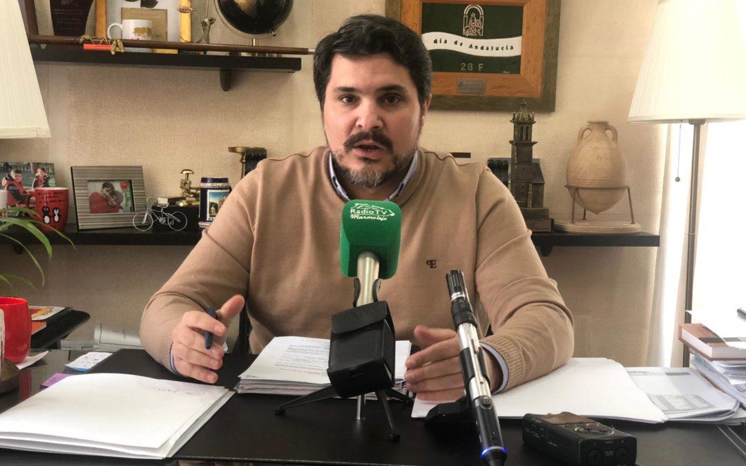 El Ayuntamiento de Marmolejo aplaza todos los eventos públicos y actividades en la localidad