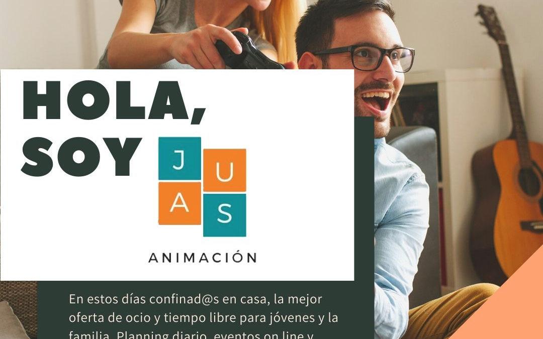 JAUS Animación, un portal web marmolejeño para animar el confinamiento