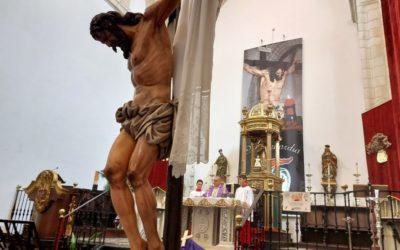Donativo cofrade a la parroquia de Santa María de Alcaudete