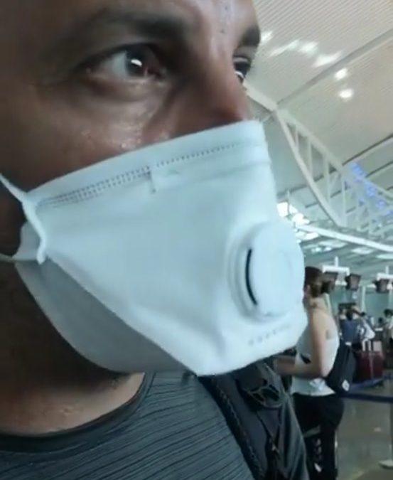 Regresa a España el bombero iliturgitano atrapado en Bali