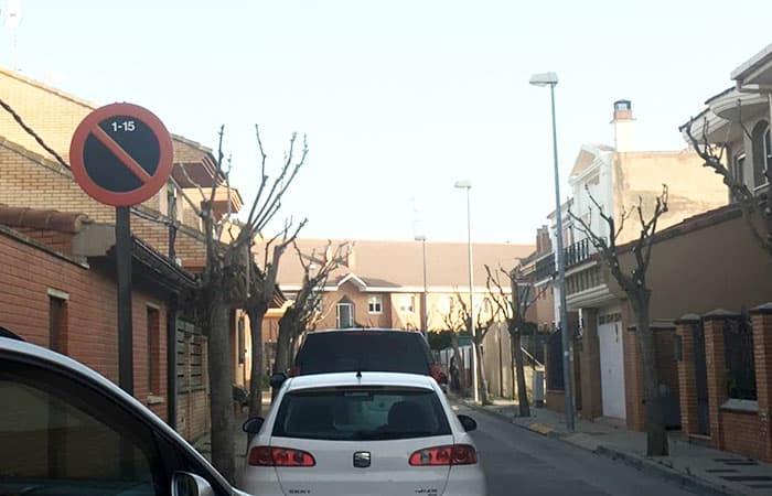 Suspendido el estacionamiento alterno en Andújar