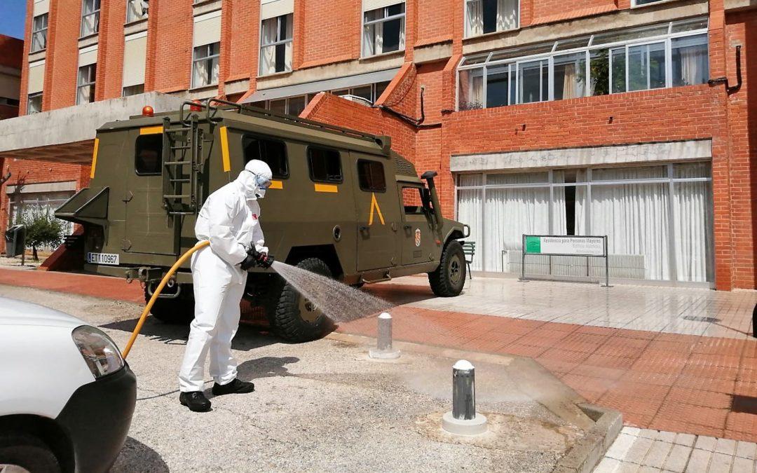 Cuatro mayores muertos y 17 contagiados en el Geriátrico de Linares