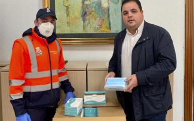 Cinco mil mascarillas para el Ayuntamiento de Martos