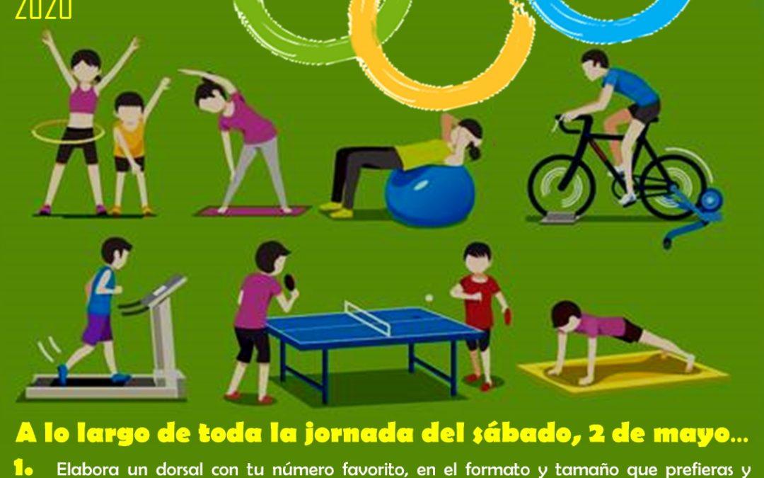 Torredonjimeno propone unas olimpiadas desde casa