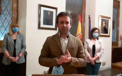 """Millán agradece a """"Ciudadanos"""" su responsabilidad y anuncia el cese de los tres ediles que anunciaron la ruptura del gobierno"""