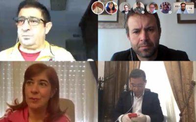El secretario general del PSOE de Jaén mantiene una reunión virtual con los representantes socialistas de municipios de más de 20.000 habitantes