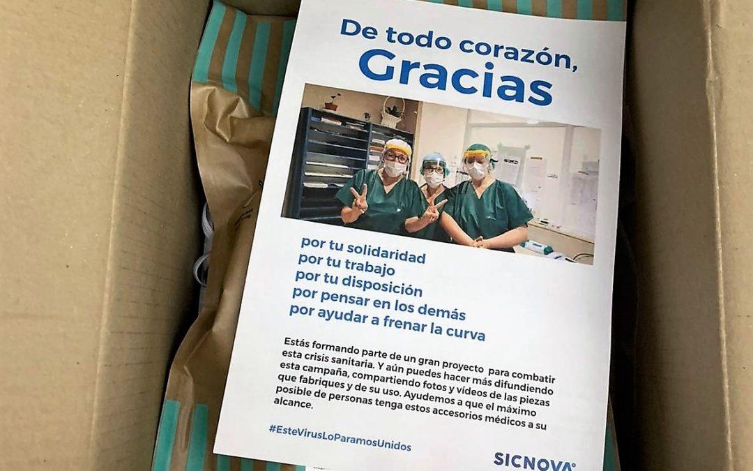 Más de 100.000 viseras 3D en toda España gracias al impulso de Sicnova
