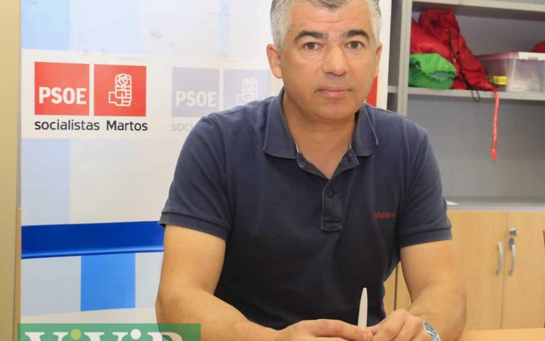 PSOE-Martos negocia con varios grupos municipales un consenso