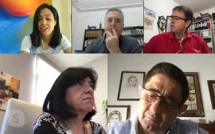 Reyes concluye su ronda de reuniones sobre la situación de cada municipio en relación al Covid-19 con el alcalde de Villanueva de la Reina