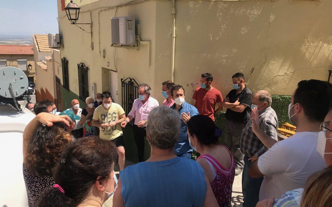 El Ayuntamiento continúa con el arreglo de la calle Travesía de Vacas y con la adecuación integral de Cruz de La Magdalena