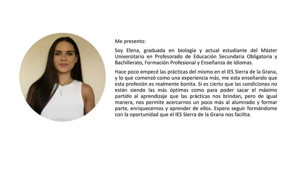 El IES 'Sierra de la Grana' presenta a las alumnas que realizarán las prácticas en el centro