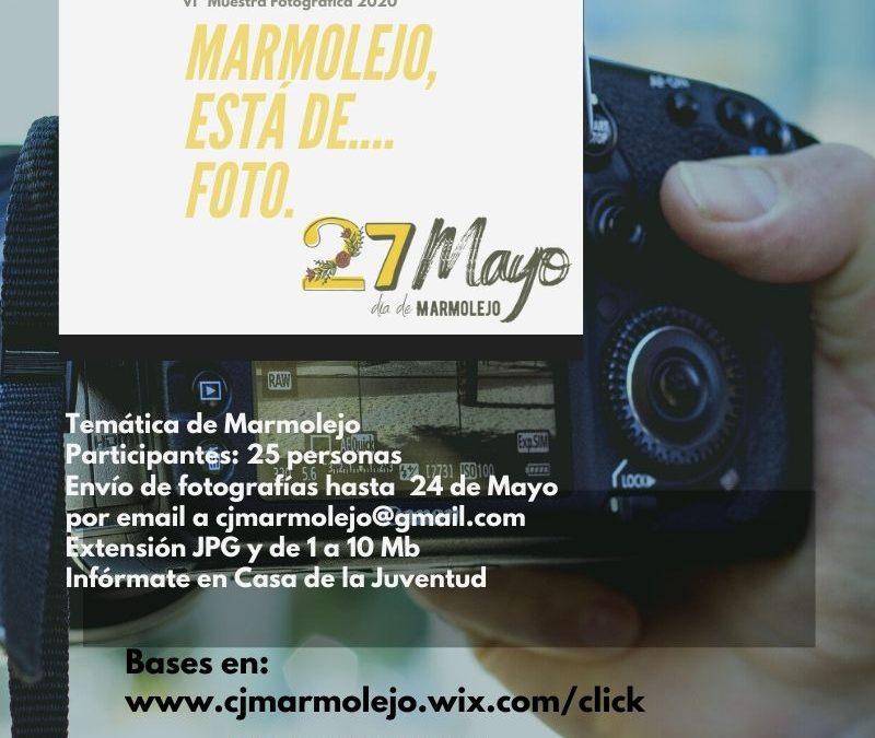 VI Muestra Virtual Fotográfica 'Marmolejo, está de…foto'