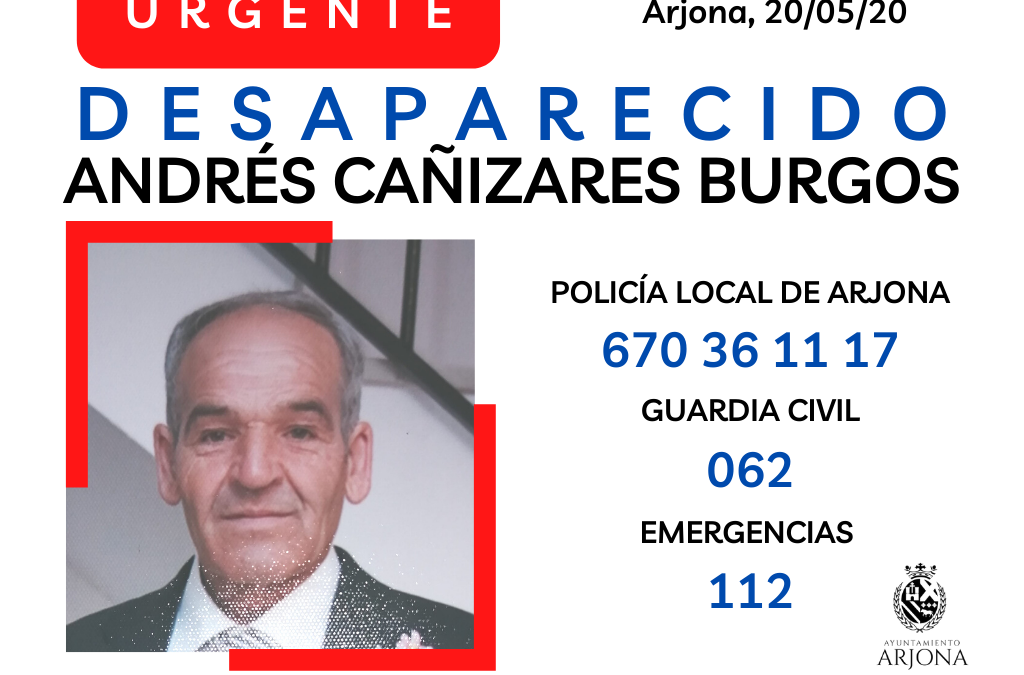 Desaparición en Arjona
