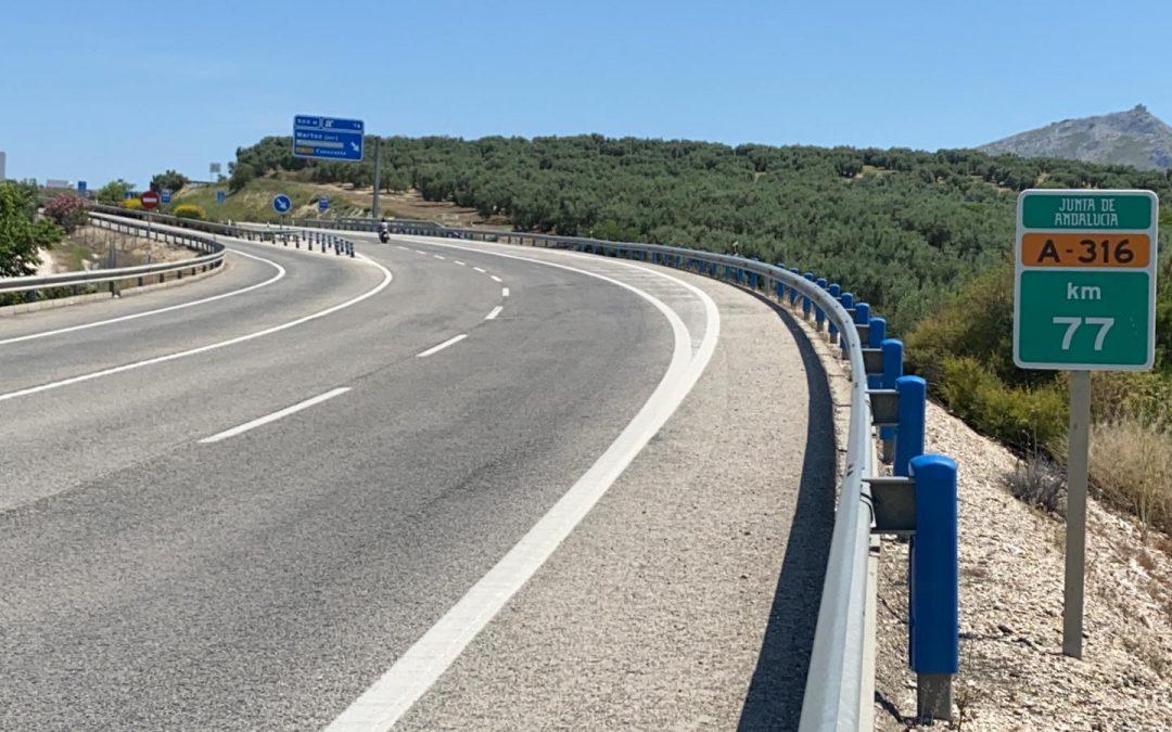 La Junta abre el proceso para actualizar el proyecto de autovía entre Martos y Alcaudete