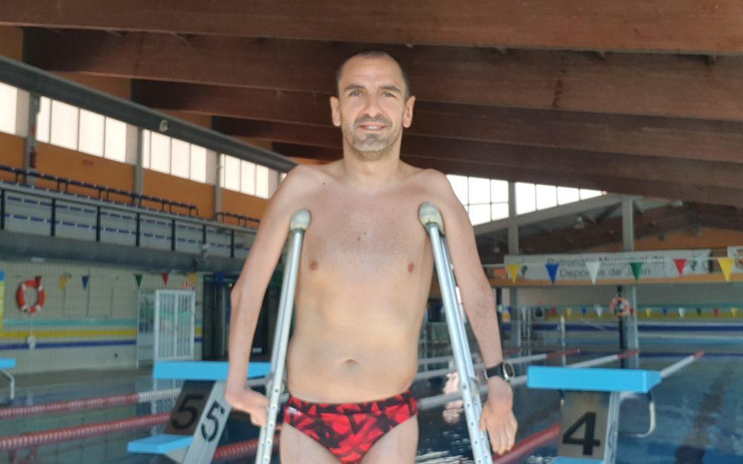 73 días después, Miguel Ángel Tajuelo vuelve al agua