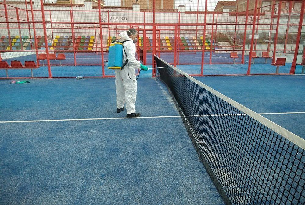 Mantenimiento y mejoras en las instalaciones deportivas de Alcaudete
