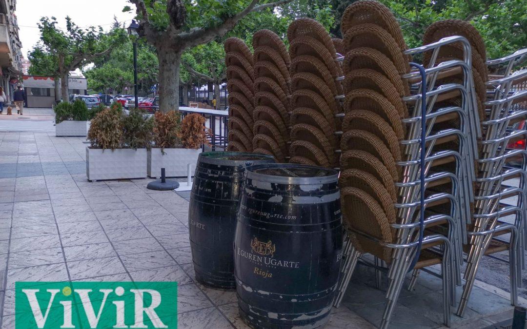 Treinta terrazas reciben licencia excepcional para ampliar su superficie