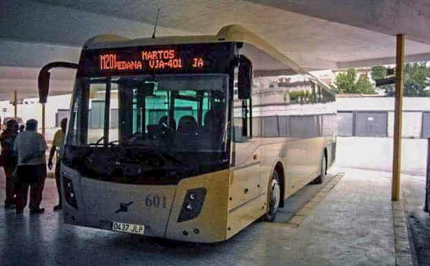 Más horarios para más regularidad en la línea entre Jaén y Martos que pasa por Torredonjimeno y Torredelcampo